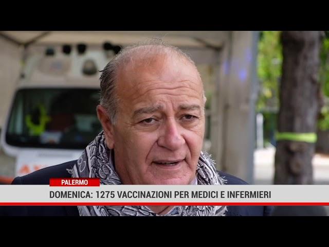 Palermo. Domenica: 1275 vaccini per medici e infermieri