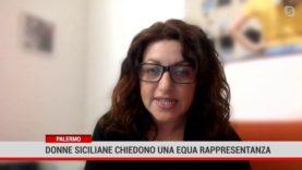 Palermo. Donne siciliane chiedono una equa rappresentanza