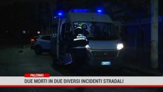 Palermo. Due morti in due diversi incidenti stradali