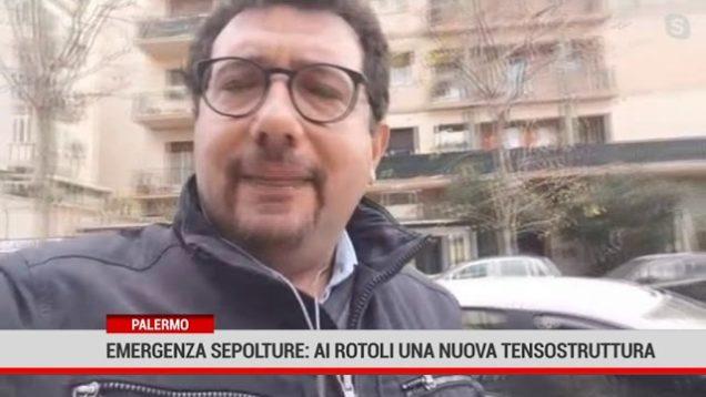 Palermo. Emergenza sepolture: ai Rotoli una nuova tensostruttura