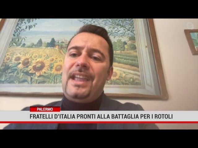 Palermo. Fratelli d'Italia annuncia battaglia in aula per risolvere il problema dei Rotoli