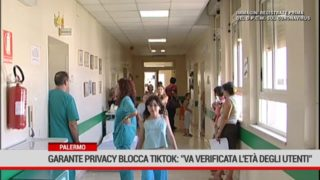 """Palermo.Garante privacy blocca TikTok: """"Va verificata l'età degli utenti"""""""