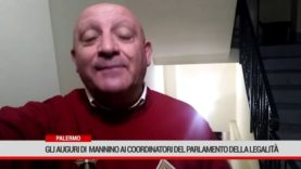 Palermo. Gli auguri di  Mannino ai coordinatori del Parlamento della Legalità