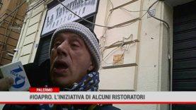 Palermo. #ioapro. L'iniziativa di alcuni ristoratori