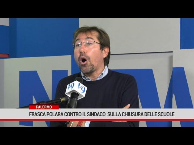 Palermo. Marco Frasca Polara contro il sindaco  sulla chiusura delle scuole