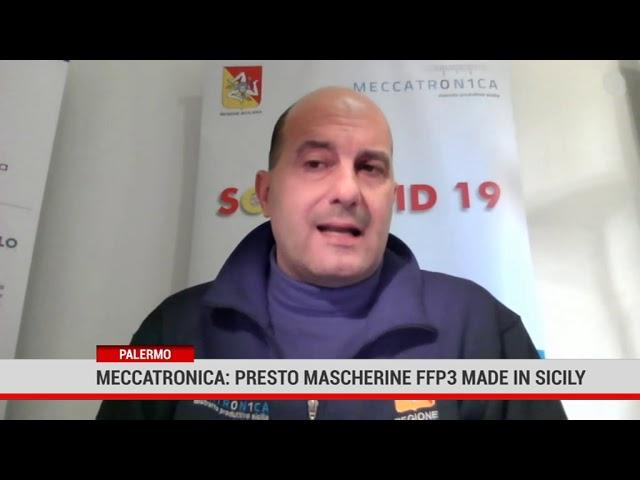 Palermo. Meccatronica: presto mascherine Ffp3 made in Sicily