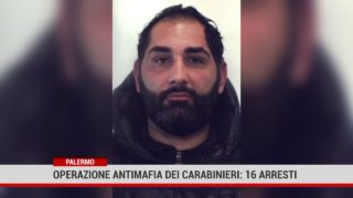 Palermo. Operazione antimafia dei carabinieri 16 arresti