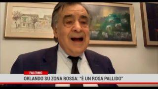 """Palermo. Orlando su zona rossa:"""" è un rosa pallido"""""""