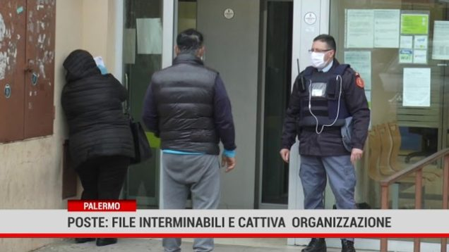 Palermo. Poste: File interminabili e cattiva  organizzazione