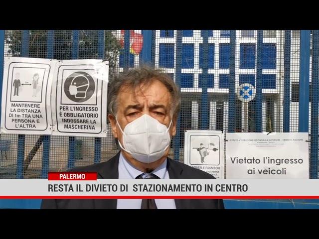 Palermo. Resta il divieto di  stazionamento in centro