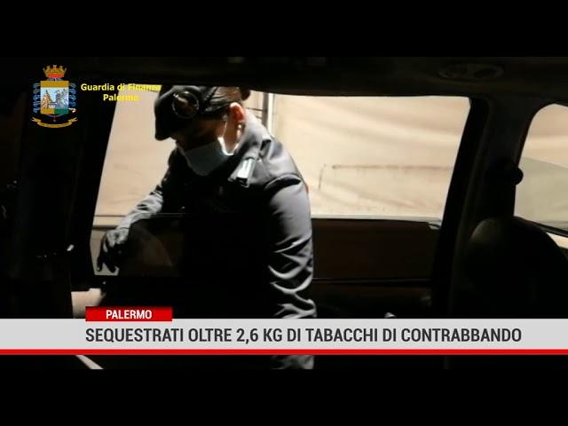 Palermo. Sequestrati oltre 2,6 kg di tabacchi di contrabbando