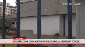Palermo. Soddisfazione di Orlando sulla proroga della chiusura delle scuole