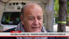 """Palermo. Vaccino, Filcams Cgil""""Inserire assistenti medici di famiglia"""""""