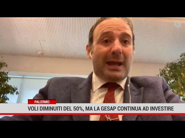Palermo. Voli diminuiti del 50%, ma la Gesap continua ad investire