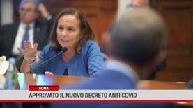 Roma. Approvato il nuovo decreto anti covid