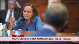 Roma. Nuovo decreto: Italia arancione nel fine settimana