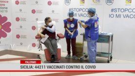 Sicilia : 44211 vaccinati contro il covid