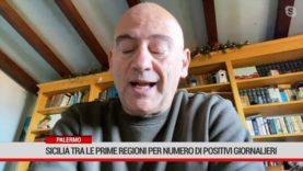 Sicilia tra le prime 3 regioni per numero di positivi giornalieri