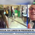 19 LIVE NEWS SCUOLA, LUNEDì IN PRESENZA AL 75% – con @RobertoLagalla Assessore Regionale Istruzione