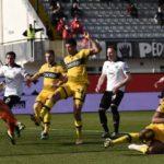 Parma avanti, ma lo Spezia recupera due gol e pareggia