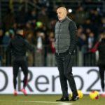 """Pioli """"Con la Roma scontro diretto per la Champions"""""""