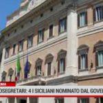 Sottosegretari: quattro i siciliani nominato dal governo Draghi
