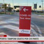 Palermo.Aeroporto: tamponi gratis per chi parte