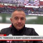 """Palermo. Filippi: """"Pareggio a Bari? Quanto rammarico"""""""