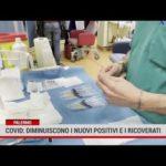 Covid: diminuiscono i nuovi positivi e i ricoverati